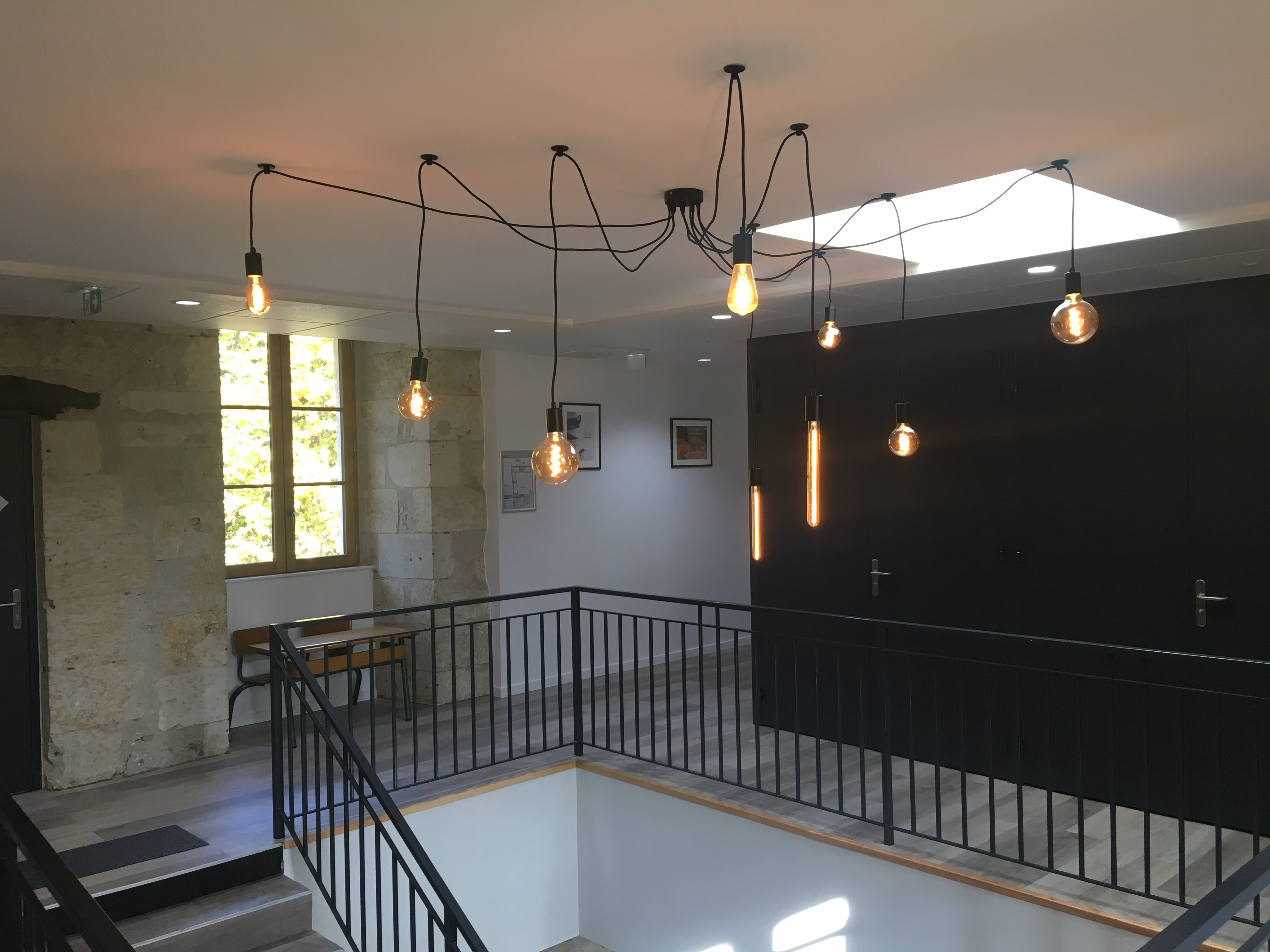 Escalier principal lumières (6)