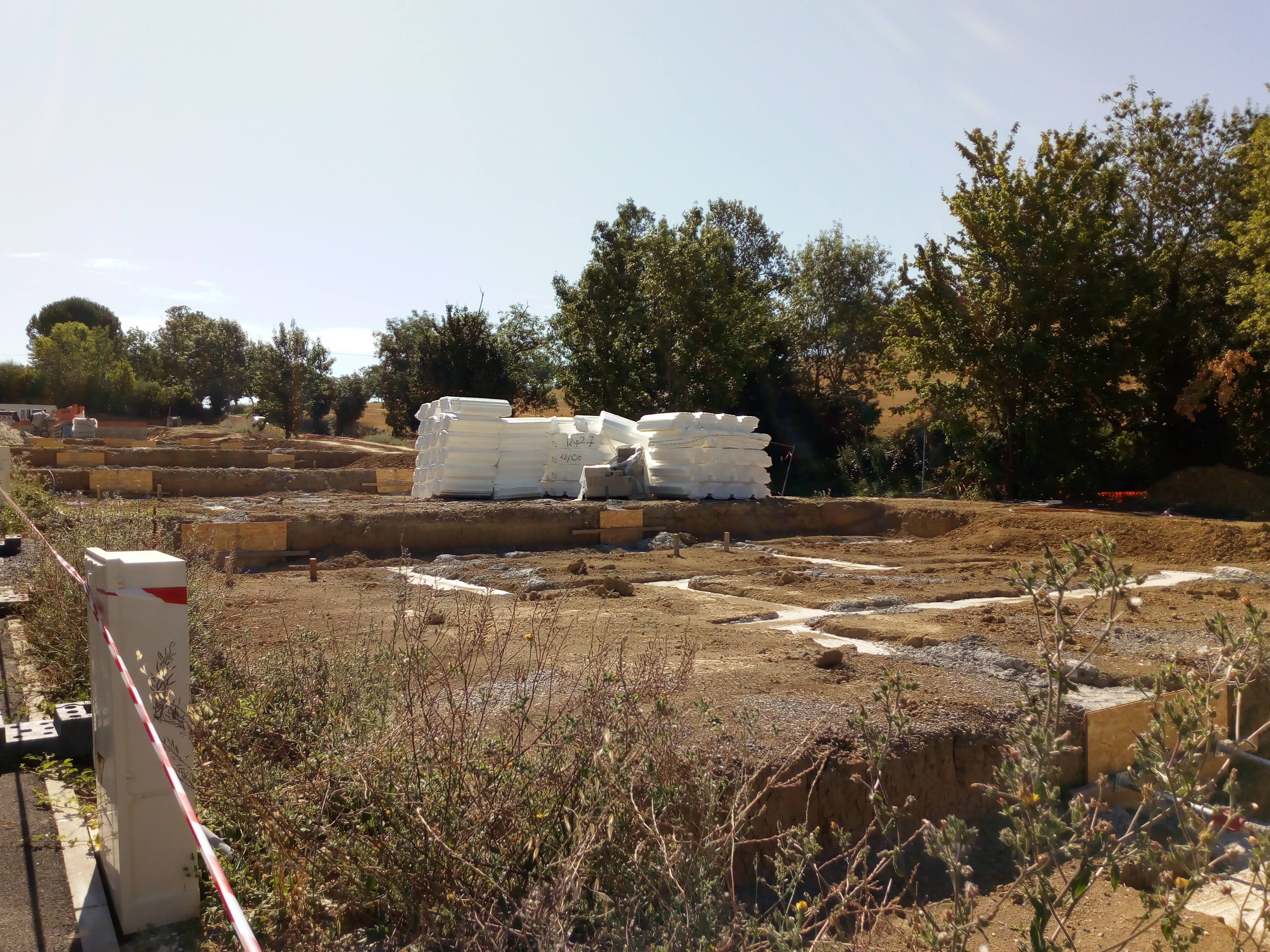 PSLA Auch : Début De Construction